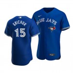 Men's Toronto Blue Jays #15 Randal Grichuk Nike Royal Alternate 2020 Authentic Player MLB Jersey