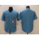 Men's Toronto Blue Jays Blank Light blue Nike Coolbase Jersey