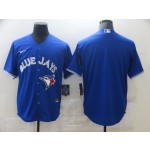 Men's Toronto Blue Jays Blank Royal Alternate 2020 Authentic Coolbase Jersey