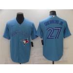 Toronto Blue Jays #27 Vladimir Guerrero Jr. Alternate Powder Blue Cool Base Jersey
