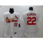 MLB St.Louis Cardinals #22 Jack Flaherty White 2020 Nike Flexbase Jersey