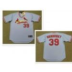 Men's Throwback St. Louis Cardinals #39 AL HRABOSKY 1975 Majestic Cooperstown Away Light Blue Jersey