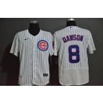 MLB Chicago Cubs #8 Andre Dawson White 2020 Nike Flexbase Jersey
