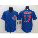 MLB Chicago Cubs #17 Kris Bryant Blue 2020 Nike Cool Base Jersey