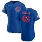 Men's Chicago Cubs #43 Dan Winkler Nike Royal Alternate 2020 Authentic Player Jersey