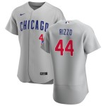 Men's Chicago Cubs #44 Anthony Rizzo Nike Gray Road 2020 Authentic Team Jersey