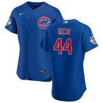 Men's Chicago Cubs #44 Anthony Rizzo Nike Royal Alternate 2020 Authentic Player Jersey