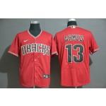 MLB Arizona Diamondbacks #13 Nick Ahmed Red 2020 Nike Flexbase Jersey