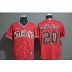 MLB Arizona Diamondbacks #20 Luis Gonzalez Red 2020 Nike Flexbase Jersey