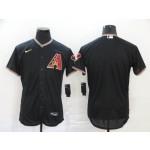 MLB Arizona Diamondbacks Blank Black 2020 Nike Flexbase Jersey