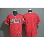 MLB Arizona Diamondbacks Blank Red Nike Flexbase Jersey