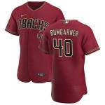 Men's Arizona Diamondbacks #40 Madison Bumgarner Nike Crimson Authentic Alternate Team MLB Jersey