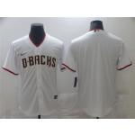 Men's Arizona Diamondbacks White Cool Base Team Jersey