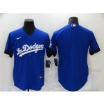 Los Angeles Dodgers Royal Blue 2021 City Connect Cool Base Team Jersey
