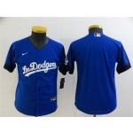 Youth Los Angeles Dodgers Royal Blue 2021 City Connect Cool Base Team Jersey