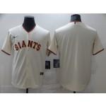 Men's San Francisco Giants Blank Cream Nike Coolbase Jersey