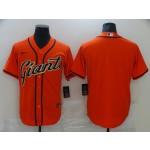 Men San Francisco Giants Blank Orange Game 2021 Nike MLB Jersey