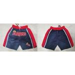 MLB Los Angeles Angels Navy Shorts