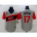 Los Angeles Angels #17 Shohei Ohtani Gray 2021 Little League Classic Cool Base Jersey