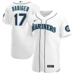 Men's Seattle Mariners #17 Mitch Haniger Nike White Home 2020 Authentic Player MLB Jersey