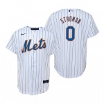 Men's New York Mets #0 Marcus Stroman Nike White Home 2020 Coolbase Jersey