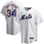 Men's New York Mets #34 Noah Syndergaard Nike White Home 2020 Coolbase Jersey
