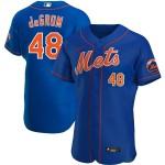 Men's New York Mets #48 Jacob deGrom Nike Royal Alternate 2020 Authentic Player MLB Jersey