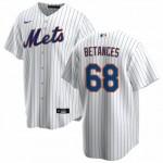 Men's New York Mets #68 Dellin Betances Nike White Home 2020 Coolbase Jersey