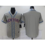 New York Mets Gray Cool Base Team Jersey