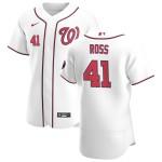 Men's Washington Nationals #41 Joe Ross Nike White Home 2020 Authentic Player MLB Jersey