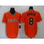 MLB Baltimore Orioles #8 Cal Ripken Jr. Orange 2020 Nike Cool Base Jersey