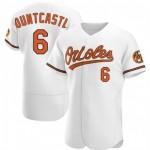 Men's Baltimore Orioles #6 Ryan Mountcastle Nike White Home 2020 Authentic Player MLB Jersey