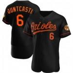 Men's Baltimore Orioles #6 Ryan Mountcastle Flexbase Black Jersey