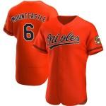 Men's Baltimore Orioles #6 Ryan Mountcastle Flexbase Orange Jersey