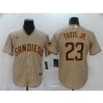 MLB San Diego Padres #23 Fernando Tatis Jr. Grey 2020 Nike Cool Base Jersey