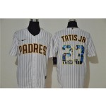 MLB San Diego Padres #23 Fernando Tatis Jr. White Nike Cool Base Player Jersey