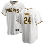 San Diego Padres #24 Blake Snell Coolbase White Jersey