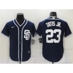 San Diego Padres #23 Fernando Tatis Jr. Navy Cool Base Jersey