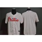 MLB Philadelphia Phillies Blank White 2020 Nike Cool Base Jersey