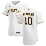 Men's Pittsburgh Pirates #10 Bryan Reynolds Nike White Home 2020 Authentic Player MLB Jersey