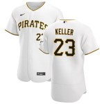 Men's Pittsburgh Pirates #23 Mitch Keller Nike White Home 2020 Authentic Player MLB Jersey