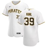 Men's Pittsburgh Pirates #39 Chad Kuhl Nike White Home 2020 Authentic Player MLB Jersey
