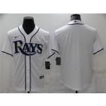 Tampa Bay Rays White Cool Base Team Jersey