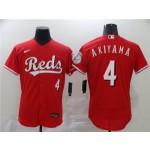 MLB Cincinnati Reds #4 Shogo Akiyama Red 2020 Nike Flexbase Jersey