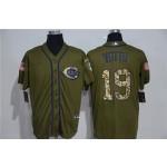 MLB Cincinnati Reds #19 Joey Votto Olive 2020 Nike Cool Base Jersey