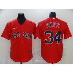 MLB Boston Red Sox #34 David Ortiz Red 2020 Nike Cool Base Jersey