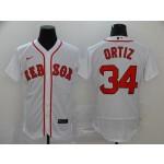 MLB Boston Red Sox #34 David Ortiz White 2020 Nike Flexbase Jersey
