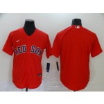 MLB Boston Red Sox Blank Red 2020 Nike Cool Base Jersey