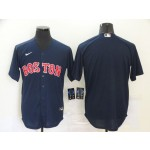 MLB Boston Red Sox Blank Navy 2020 Nike Cool Base Jersey