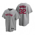 Men's Boston Red Sox #32 Matt Barnes Grey Road 2020 Cool Base Jersey